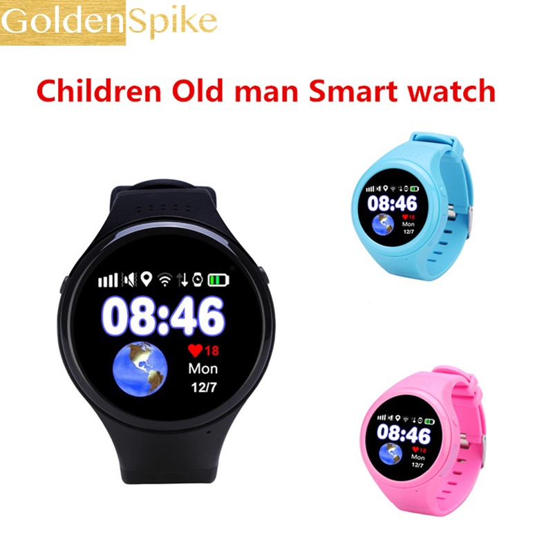 New Child Smart Watch T88 With GPS Global Positioning Baby Watchs Kid Safe Anti-Lost Monitor SOS Call Location Device Tracker gw200s round gps smart watch baby watch with wifi sos location device tracker for kids old man safe anti lost monitor pk q100