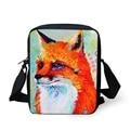 FORUDESIGNS New Style Cartoon Messenger Bag For Boys And Girls Fashion Animal Printing Messenger Unique Designdog Cross Body Bag
