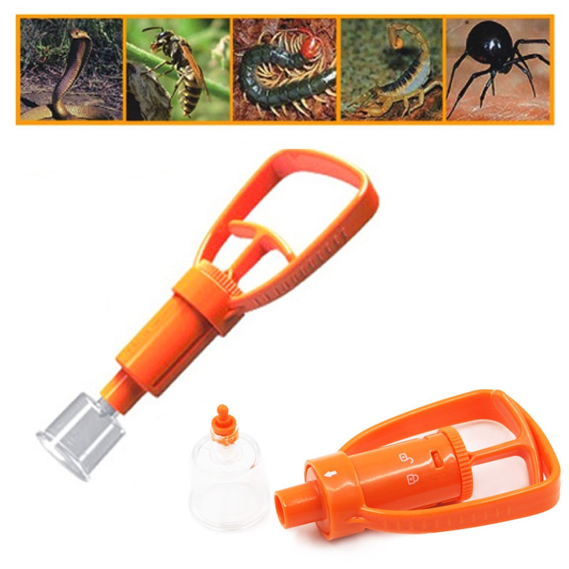 Venom Extractor Outdoor Camping Survivor Emergency Safe First Aid Kit Safety Protector Snake Venom Bees Bite Extractors