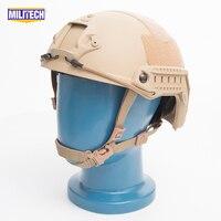 SNELLE Tan FA Stijl Super ABS Airsoft Tactical Helm/Ops Core Stijl Hoge Cut Training Helm/SNELLE Ballistische Stijl Helm