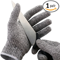 Cost-effective Hot Sale New Arrival 1 Pair Cut Resistant Gloves NoCry High Performance Level 5 Protection Anti Slash