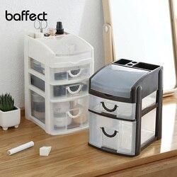 Mini 2 3 Layers Desktop Drawer Storage Box Sundries Case Small Objects Cosmetics Box Desktop Makeup Organizer Dropshipping