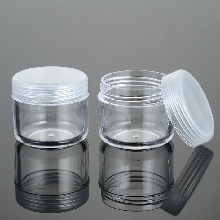 25pcs 5g Cosmetic Empty Jar Pot Eyeshadow Makeup Face Cream Container Bottle Acrylic For Creams Skin Care Products Makeup Tool