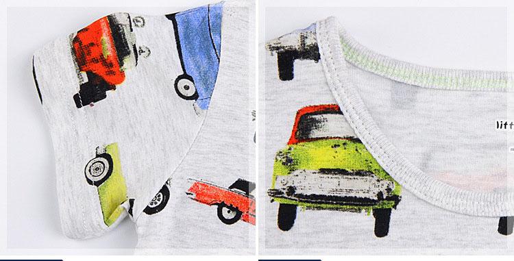 HTB1LTPeQVXXXXb.apXXq6xXFXXXD - Little Maven top brand Summer Kids Children boys printing cartoon Cars pure cotton short sleeve t shirt for baby boys kids
