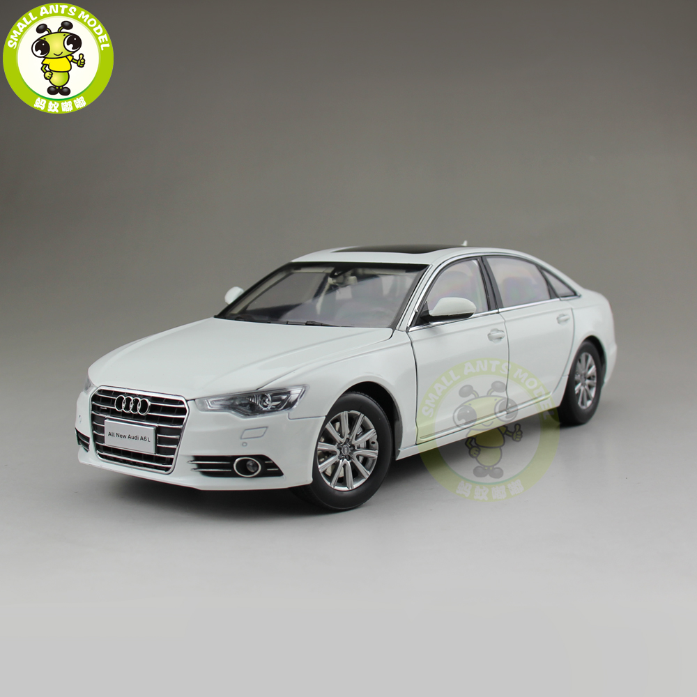 1/18 Audi A6 A6L 2012 Diecast Car Model Toy Boy Girl Gift Collection White
