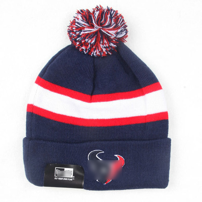 men knitted rugby skullies autumn double warm active beanies pompom women  embroidery team logo workout hats striped wave caps d3da38136d4