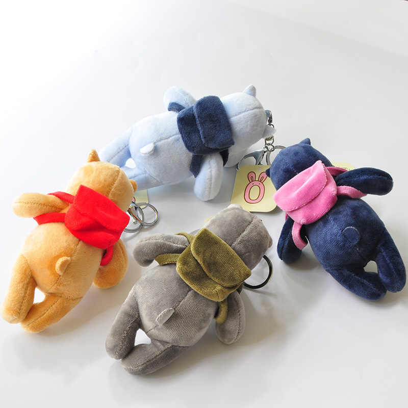 1 шт. бутик 14 см новые игрушки куклы с ароматом и прекрасный маленький несчастный медведь плюшевые брелоки игрушки девушки сумка Автомобильная клипса
