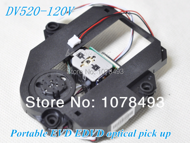 free shipping HOP-120V / 120V WITH DV520 MECHANISM DV520(120V) PLASTIC MECHANISM HOP120V Portable EVD EDVD Mobile DVD laser lens