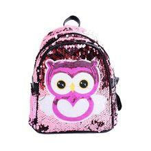 Women Girls bag Sequins Glitter Backpack Rucksack Travel Shoulder School Bag
