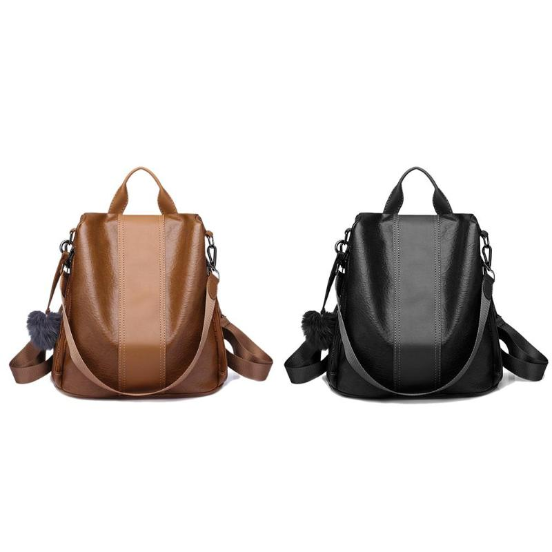 New fashion PU Women Anti-theft Backpack Hight Quality Vintage Backpacks Female Larger Capacity School Bag bolsa femininaNew fashion PU Women Anti-theft Backpack Hight Quality Vintage Backpacks Female Larger Capacity School Bag bolsa feminina