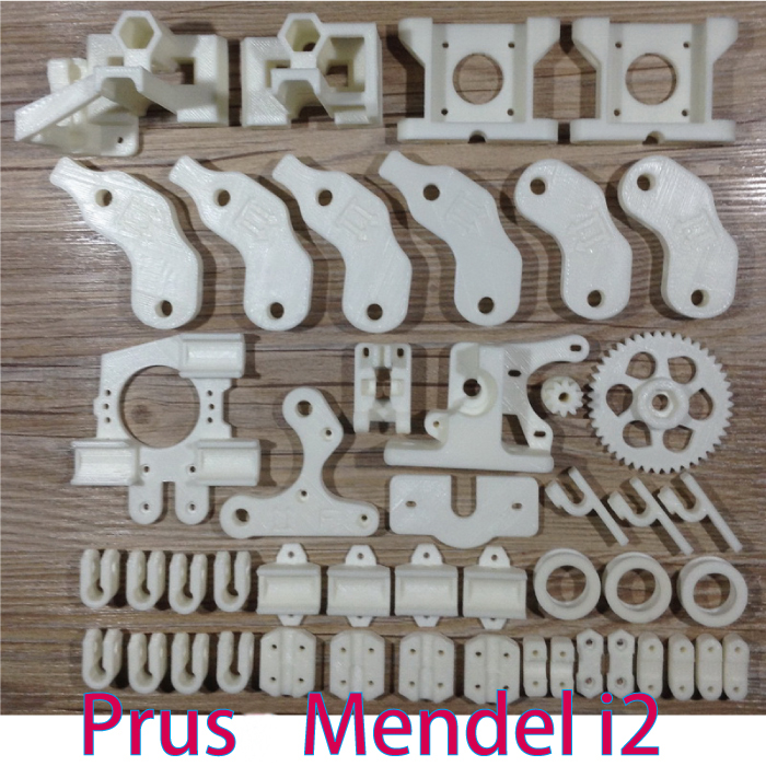 HOT!Heacent Open RepRap Mendel i2 Reprap Mendel i2 3D Printer Required PLA Plastic Parts Set Printed Parts Kit colorful reprap i3 rework 3d printer pla required pla plastic parts set printed parts kit mendel i3 free shipping