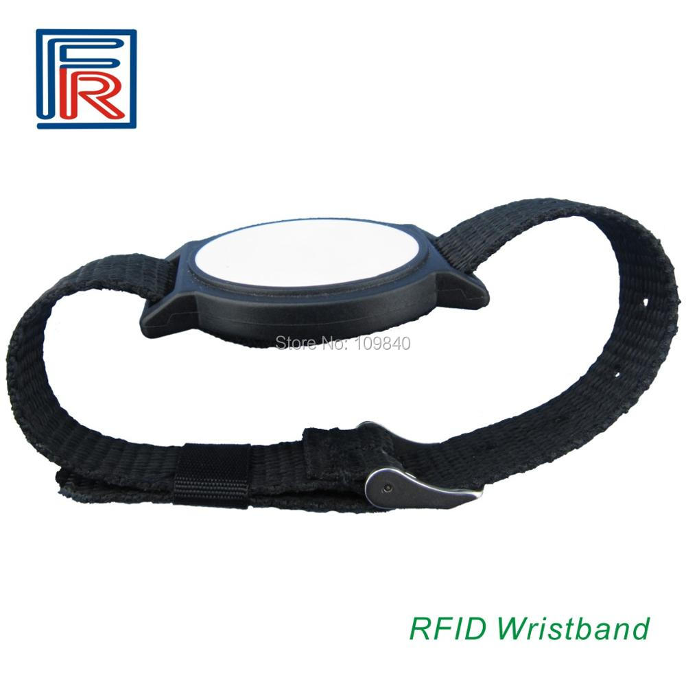 China leader Manufacturer of rfid Nylon wristband 13.56mhz bracelet ISO14443A HF rfid tag 3pcs/lot survival nylon bracelet brown