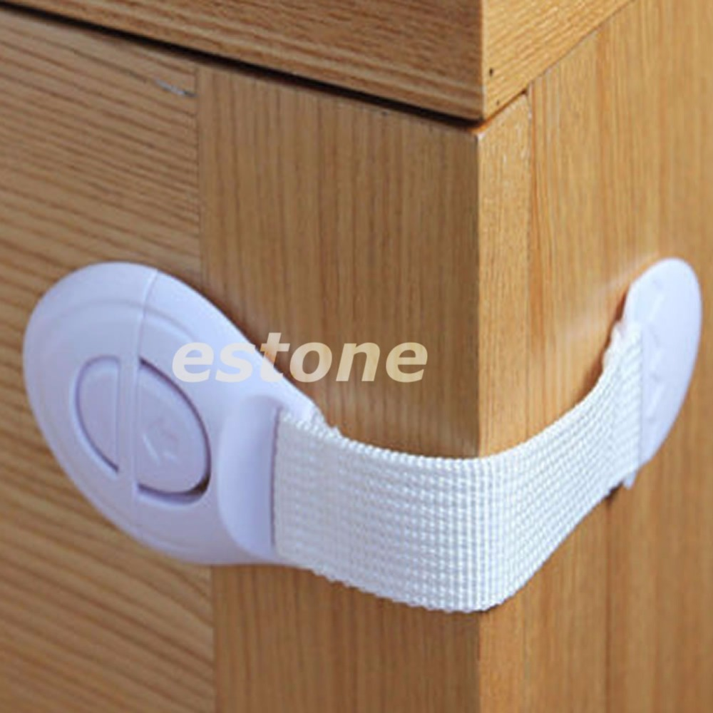 5PCS Baby Kids Child Toddler Safety Door Lock Fridge Drawer Toilet Cupboard ...