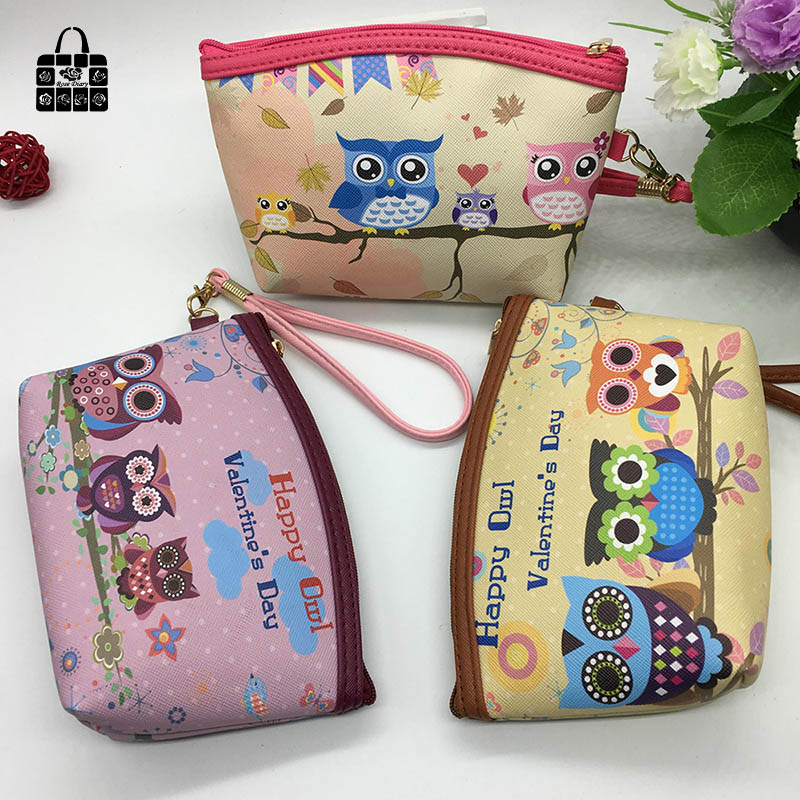 ROSEDIARY cute owls PU Leather Waterproof zipper Coin Purse Women Clutch lady Wallet phone Pocket Pouch Bag Keys cosmetic holder rosediary cute owls pu leather waterproof zipper coin purse women clutch lady wallet phone pocket pouch bag keys cosmetic holder