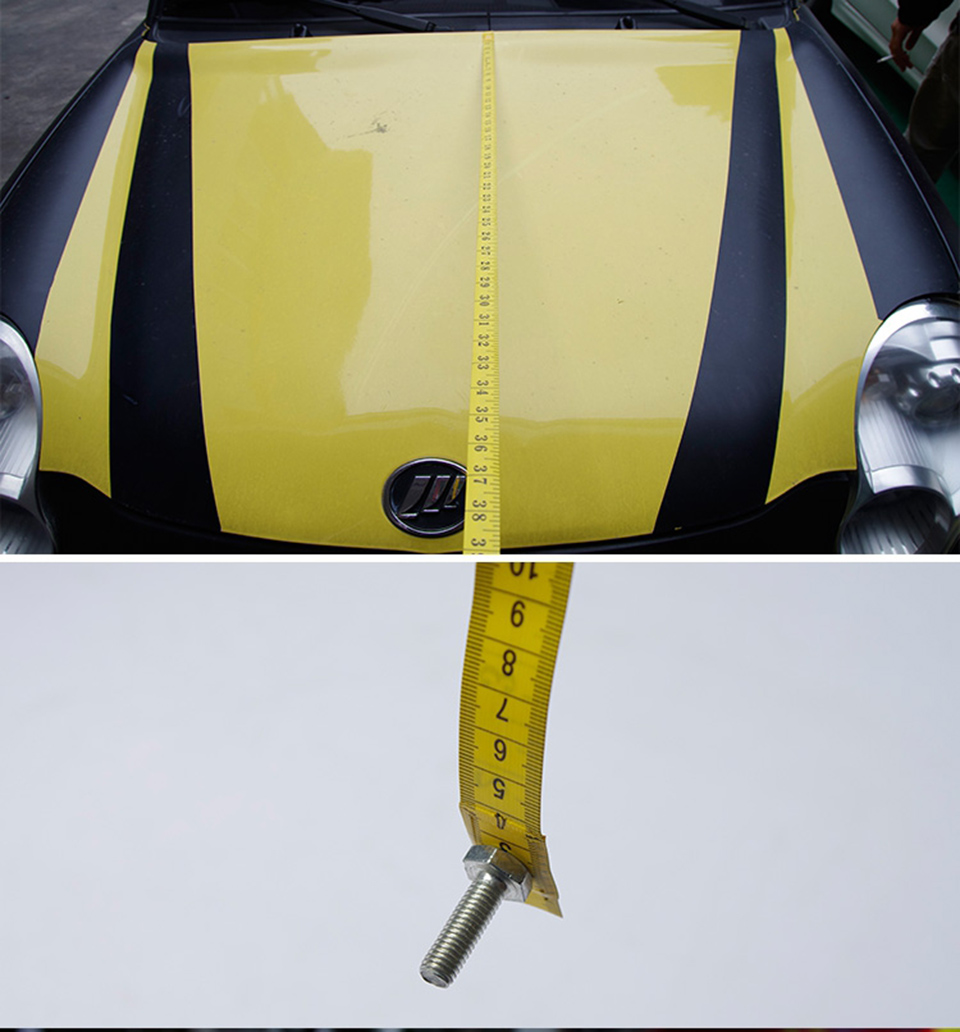 Image 5 - 3 Meter Measure Tape With Magnet Soft Measure Meter for Car Wrap Vinyl Install MO 190