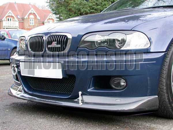 Us 270 0 3k Real Carbon Fiber Acs Style Front Lip Spoiler For Bmw E46 M3 2001 2006 B014 In Sway Bars From Automobiles Motorcycles On