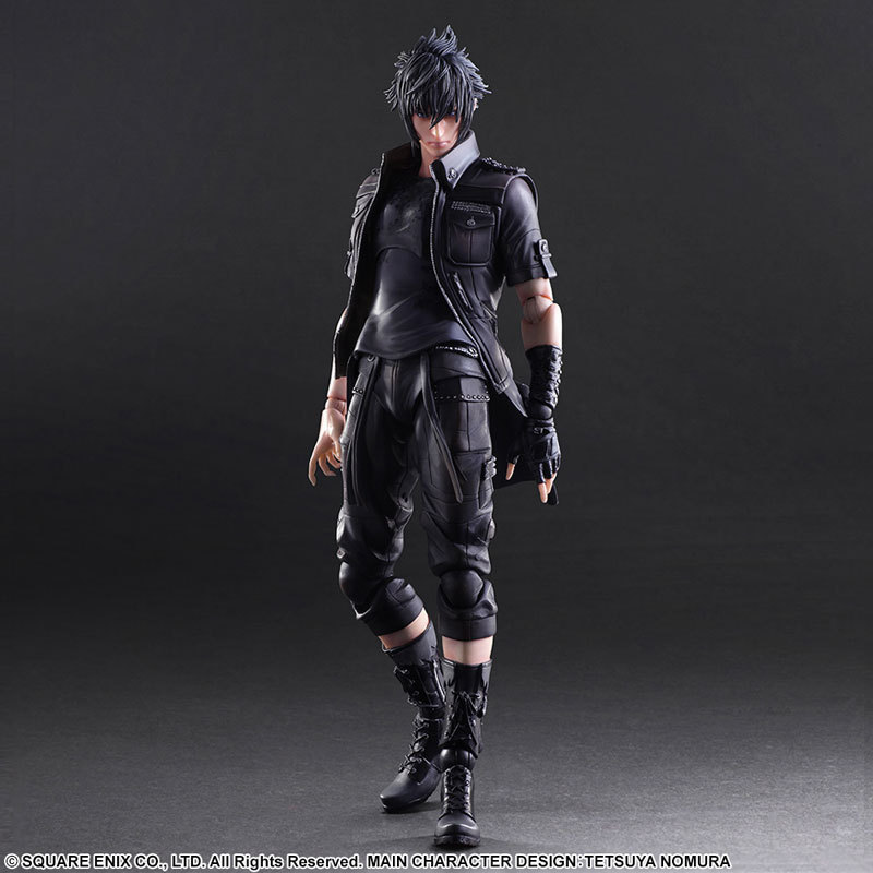 PLAY ARTS 25cm Final Fantasy XV Noctis Lucis Caelum Action Figure Model Toys
