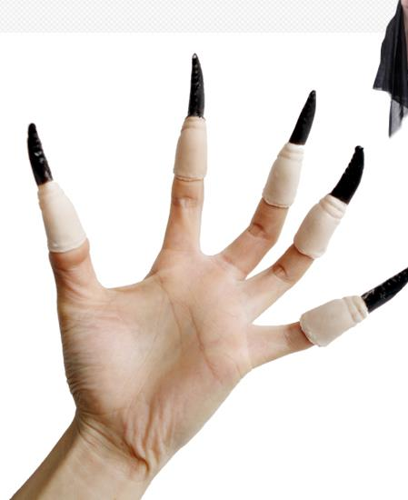Horror Vampire witch fake nails scary Halloween costume ...