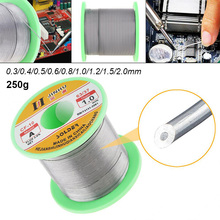 0.3/0.4/0.5/0.6/0.8/1.0/1.2/1.5/2.0mm 250g 60/40 FLUX 2.0% Tin Lead Tin Wire Melt Rosin Core Solder Soldering Wire Roll ghixacto 500g tin lead solder wire 0 5 0 8 1 2 0mm 60 40 flux 2 0