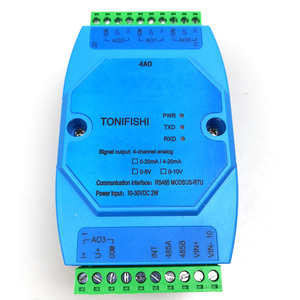 4AO Analog output 4 channel magnetic isolation 4-20mA 0-20mA 0-10V 0-5V industrial grade RS485 MODBUS supports multiple outputs(China)