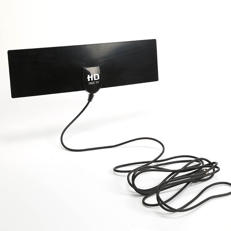 Free HD TV Digital Indoor Antenna Transmission With Cable HDTV 35 Miles Range Ultra Thin TV Antennas Transmission FC
