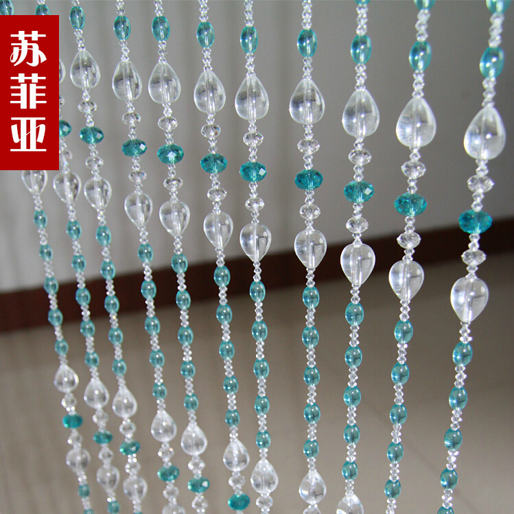 Bead curtain full wearing crystal bead curtains home decor hanging door beads curtain christmas decor-in Curtains from Home \u0026 Garden on Aliexpress.com ... & Bead curtain full wearing crystal bead curtains home decor hanging ...