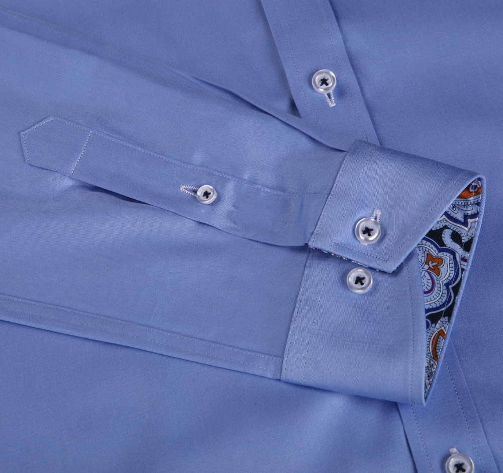 New Arrival Men's Cotton Fancy/Classic Dress Shirts Long And Short Sleeve Slim Fitting Shirts 8 Sizes High Quality Euro.Design