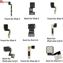 Big Rear Back Camera Flex lens Module Main Front Face Small Cam Flex Cable For iPad Air Mini 1 2 3 4 5 6 CDMA 4G 3G Wifi Version(China)