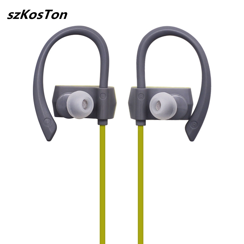 H21 Wireless Bluetooth Headphones Ear Hook Bluetooth Headphone Sports Sweatproof Stereo Bluetooth Waterproof Headset with Mic coulax bluetooth headphones sports wireless headset ipx7 waterproof earbuds in ear earphones with mic sweatproof headphone cx36