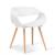 PP Assento Pernas de Madeira de Faia de Negociação Sala Cadeira Da Sala de Cadeira Criativo