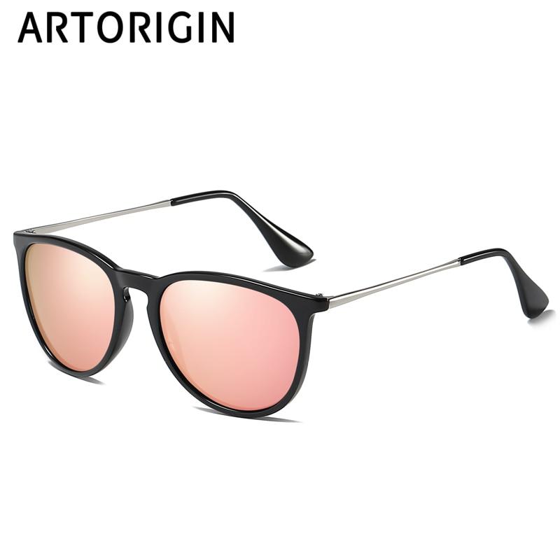 Vintage Polarized Cat Eye Women Sunglasses Brand Designer Erika Mirror UV400 Retro Female Shades Pink Sun Glasses 264171