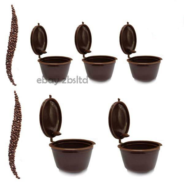 3tk komplekt - korduvkasutavad Nescafe Dolce Gusto kohvikapslid, pakendis 3 tk, 8 värvivalikut