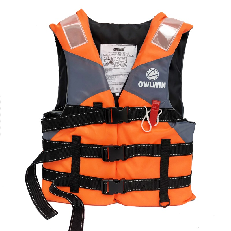 Outdoor Professional Life Jacket Adult Kids Vest Swimming Boating Water Sport Swimwear Drifting