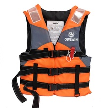 Outdoor Professional Life Jacket Adult Kids Vest Swimming Boating Water Sport Swimwear Drifting