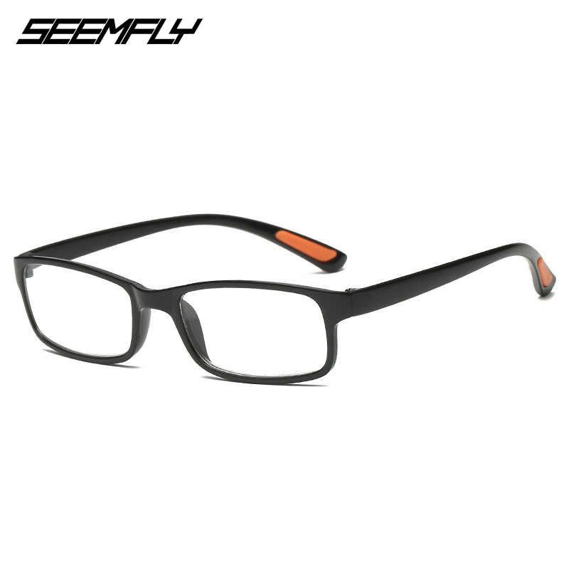 SEEMFLY TR90 Reading Glasses Women Female Ultralight Presbyopic Eyeglasses Men Male Square Spectacles Unisex Hyperopia Eyewear