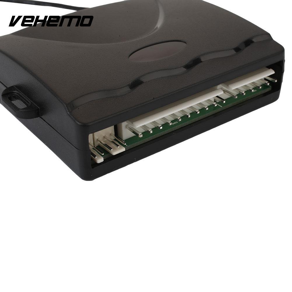 Système d'alarme antivol serrure centrale système de sécurité automatique électronique de voiture accessoires de voiture télécommande universelle - 3