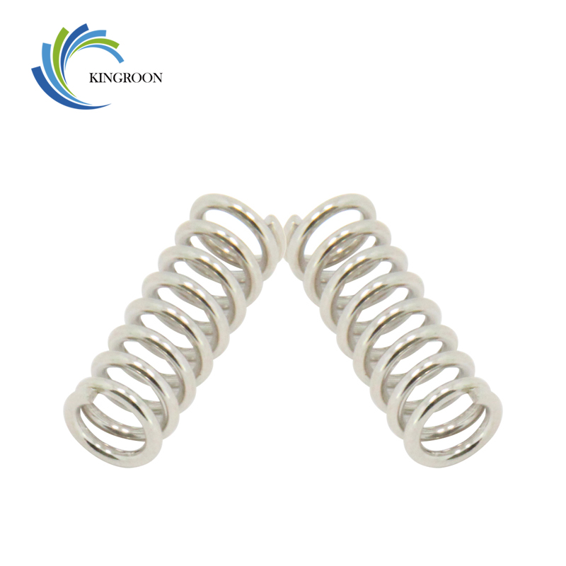 KINGROON 10pcs/lot Feeder Springs Nickel Plating Stainless Steel Part Aluminum 1.2mm 5mm Length 20mm Springs 3D Printers Parts 1 wilde o the nightingale