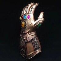 Spuer Villain Thanos Avengers Infinity War Gauntlet Action Figures Cosplay Superhero Iron Man Anime Avengers Thanos Glove #F