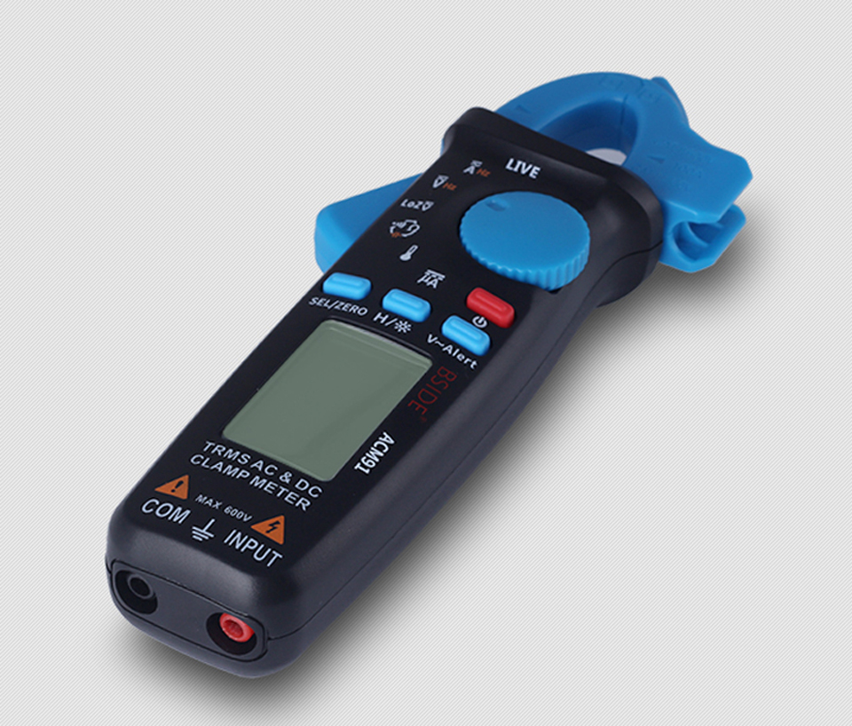 True RMS AC DC Current Voltage Ampere Digital Clamp Meter