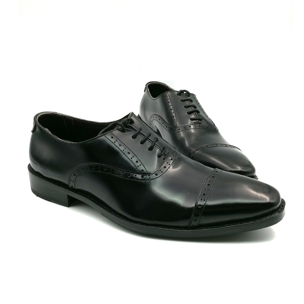 SP51 - Zapatos Oxford de cuero genuino de los nuevos hombres marrones - Zapatos de hombre - foto 3