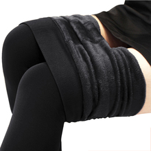 Winter Plus Cashmere Warm Leggings Woman Casual High Elastic Thicken Lady Trousers High Quality Skinny Pants