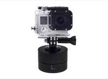 360 Degrees Panning Rotating Time Lapse Stabilizer Tripod+Tripod Mount Adapter for GoPro Hero 4 3+ 3 SJCAM Action Camera