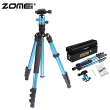 ZOMEI M3 Camera Tripod & Monopod Light Weight Travel Tripod with 360 Degree Ball Head and Carry Bag for SLR DSLR Digital Camera недорого