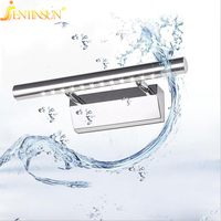 Wholesale 2015 New Led Stainless Steel Bathroom Mirror Lamp Wall Light 3W 5W 7W Warm And