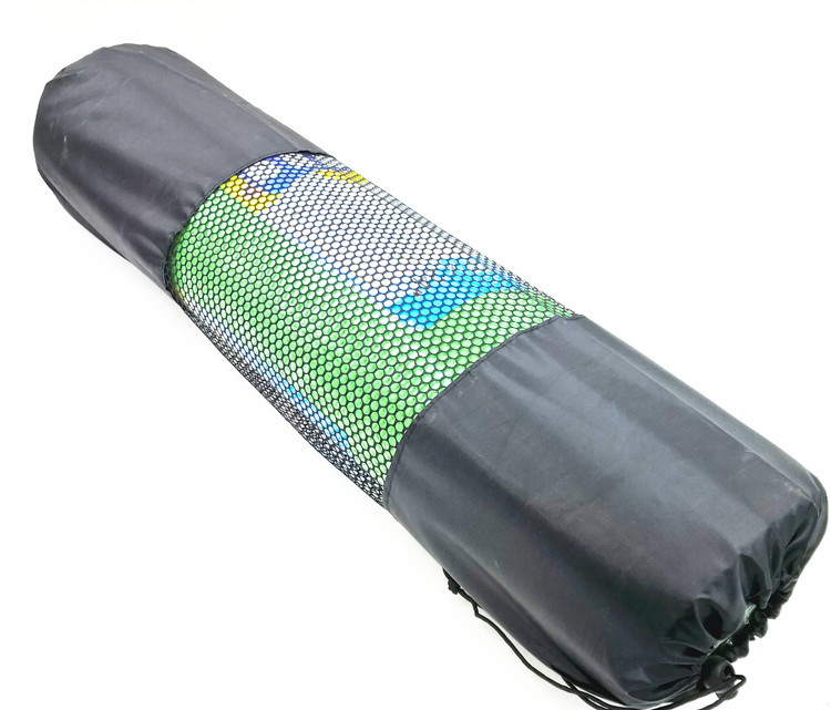 New 8mm Mesh Yoga Mat Bag High Quality Por Portable Nylon Gym Backpack Mochila Bola In Mats From Sports Entertainment On Aliexpress