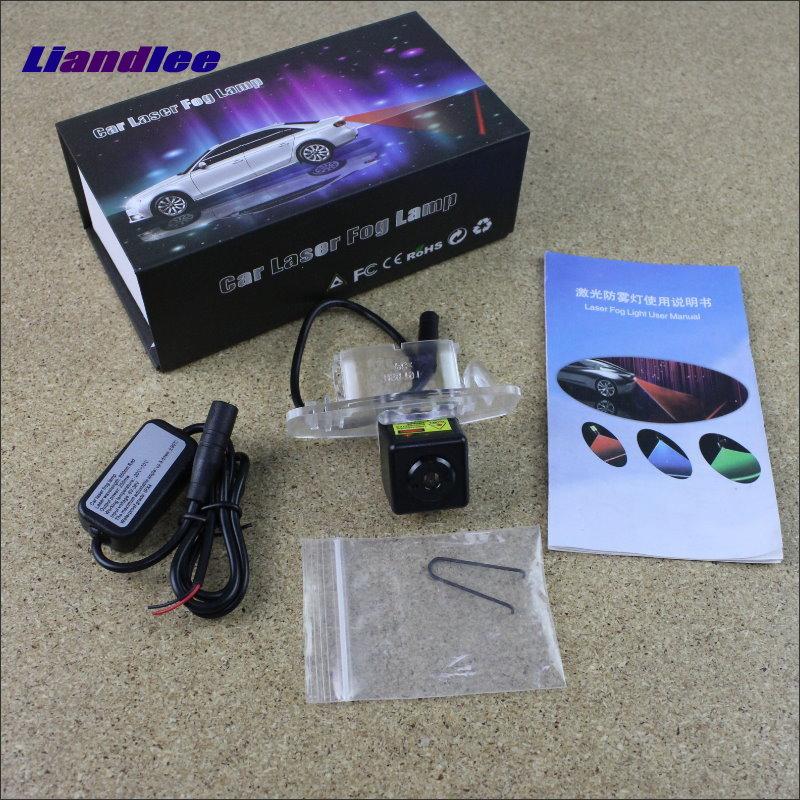 Liandlee Auto Laser Fog Light For Honda Civic / Ciimo 2012~2015 Preventing Rain Fog Haze Fog Lamps Auto Truck Car Alarm neo chrome rear lower control arm lca for honda civic 2001 2005 e2c