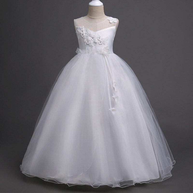 de5d7c2195e33 US $49.9 |In Stock Chic Mint Flower Girl Dresses Ball Gown Satin Tulle Bow  First Holy Communion Dresses for Girls 4 12Y vestido daminha-in Flower Girl  ...
