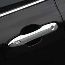 цена на 2019 Accessories ABS Chrome Car Exterior Accessories Car Door Protector Handle Decoration Covers Trim Styling for Toyota Corolla