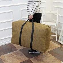 Large Travel Handbag Waterproof Bag Capacity Storage Oxford Folding Unisex Luggage