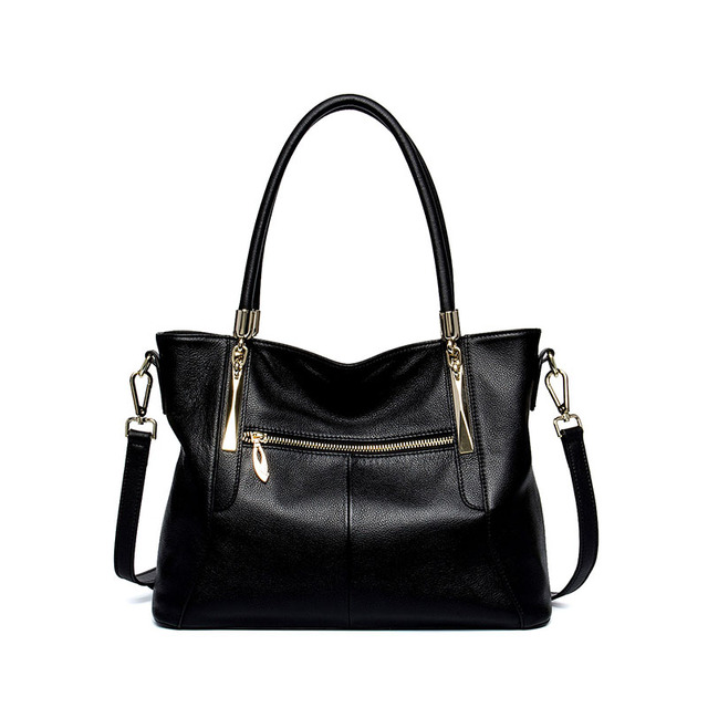 GSQ High Quality Genuine Leather Women Handbag Fashion Women Leather Messenger Bags Shoulder Bag Famous Brands Designer Tote